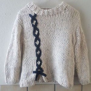 Zara Knit girls Sweater Size 9-10 EUC